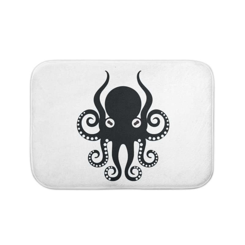 Octopi Home Bath Mat by DesignsbyAnvilJames's Artist Shop