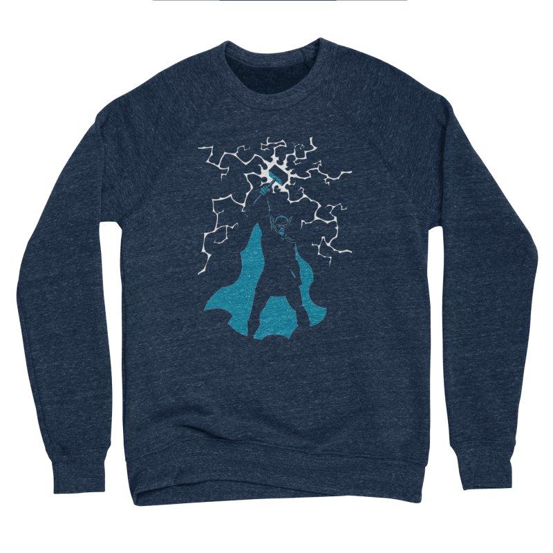 THOR Men's Sponge Fleece Sweatshirt by DesignsbyAnvilJames's Artist Shop