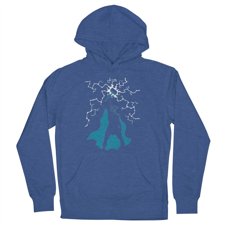 THOR Men's French Terry Pullover Hoody by DesignsbyAnvilJames's Artist Shop