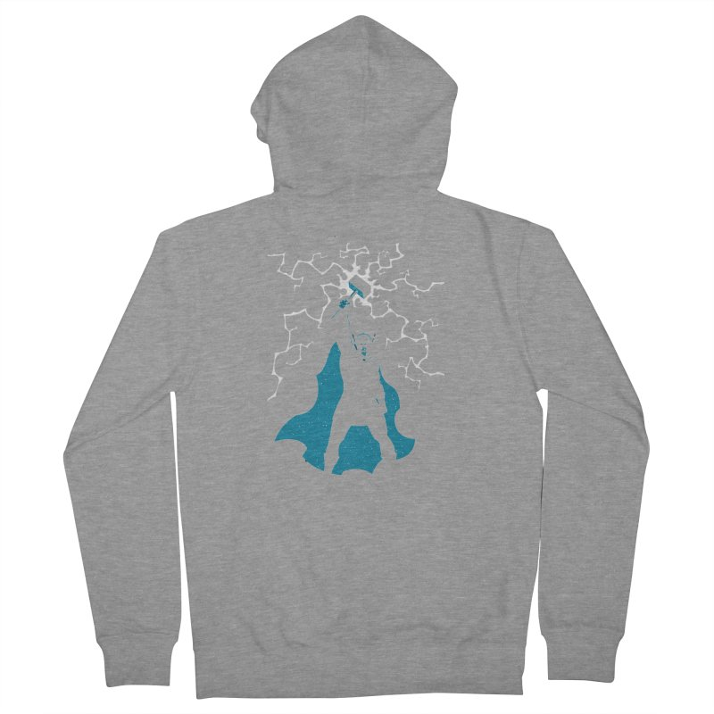 THOR Women's French Terry Zip-Up Hoody by DesignsbyAnvilJames's Artist Shop