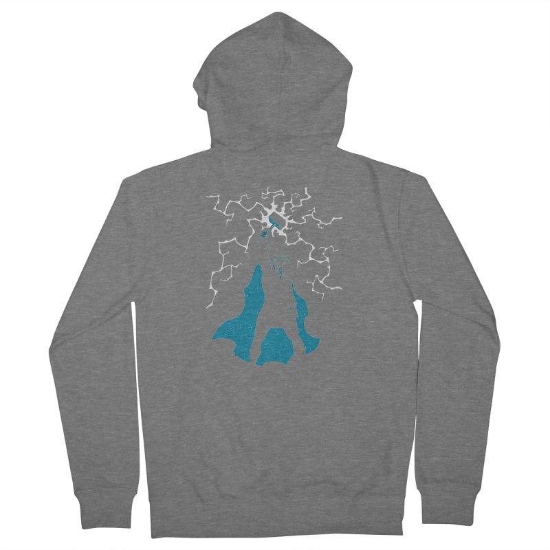 THOR Men's Zip-Up Hoody by DesignsbyAnvilJames's Artist Shop
