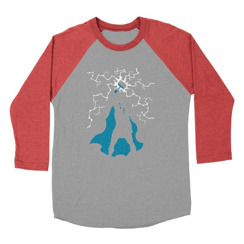 THOR Women's Baseball Triblend Longsleeve T-Shirt by DesignsbyAnvilJames's Artist Shop