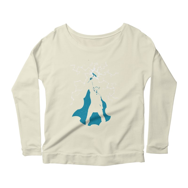 THOR Women's Scoop Neck Longsleeve T-Shirt by DesignsbyAnvilJames's Artist Shop