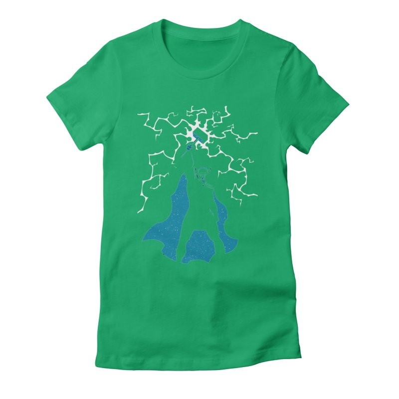 THOR Women's Fitted T-Shirt by DesignsbyAnvilJames's Artist Shop