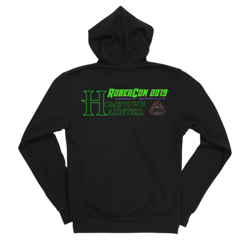Robercon LTD Women's Sponge Fleece Zip-Up Hoody by DesignsbyAnvilJames's Artist Shop