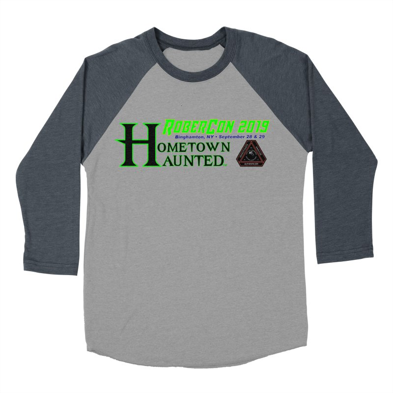 Robercon LTD Men's Baseball Triblend Longsleeve T-Shirt by DesignsbyAnvilJames's Artist Shop