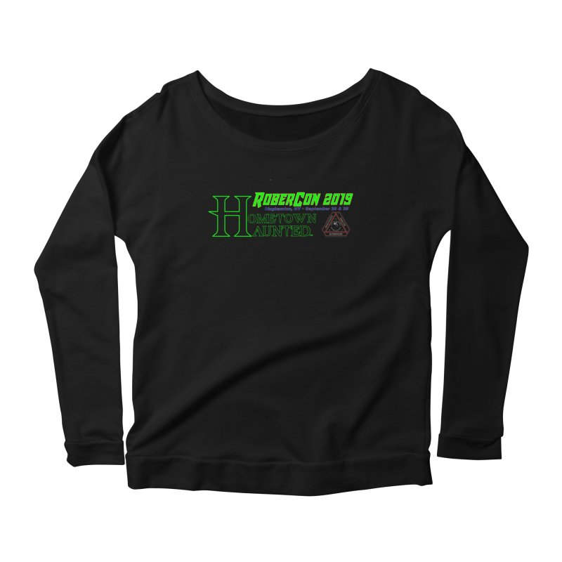 Robercon LTD Women's Scoop Neck Longsleeve T-Shirt by DesignsbyAnvilJames's Artist Shop