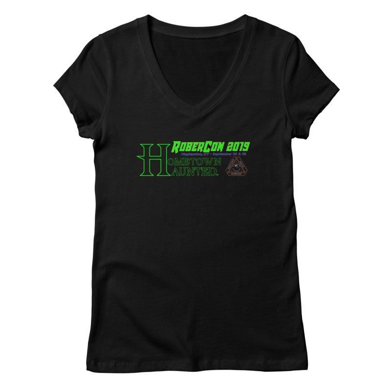 Robercon LTD Women's V-Neck by DesignsbyAnvilJames's Artist Shop
