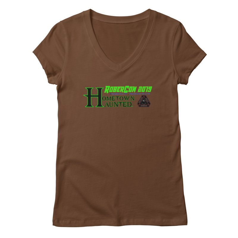 Robercon LTD Women's Regular V-Neck by DesignsbyAnvilJames's Artist Shop