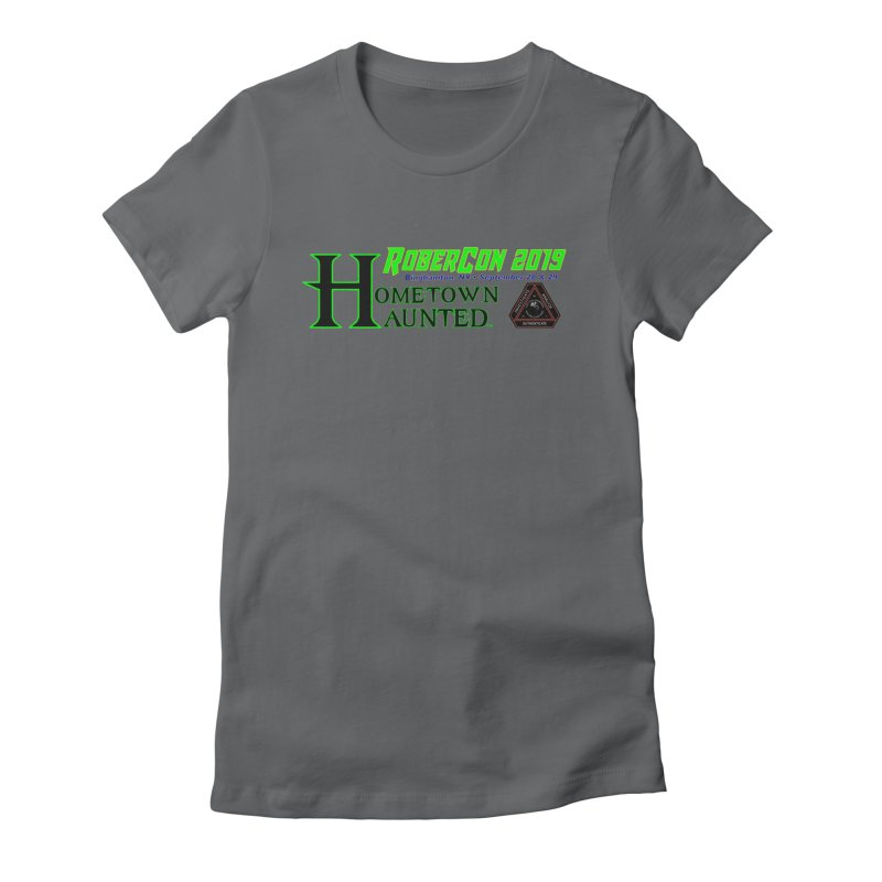 Robercon LTD Women's Fitted T-Shirt by DesignsbyAnvilJames's Artist Shop
