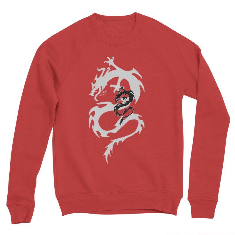 Double Dragon Men's Sponge Fleece Sweatshirt by DesignsbyAnvilJames's Artist Shop