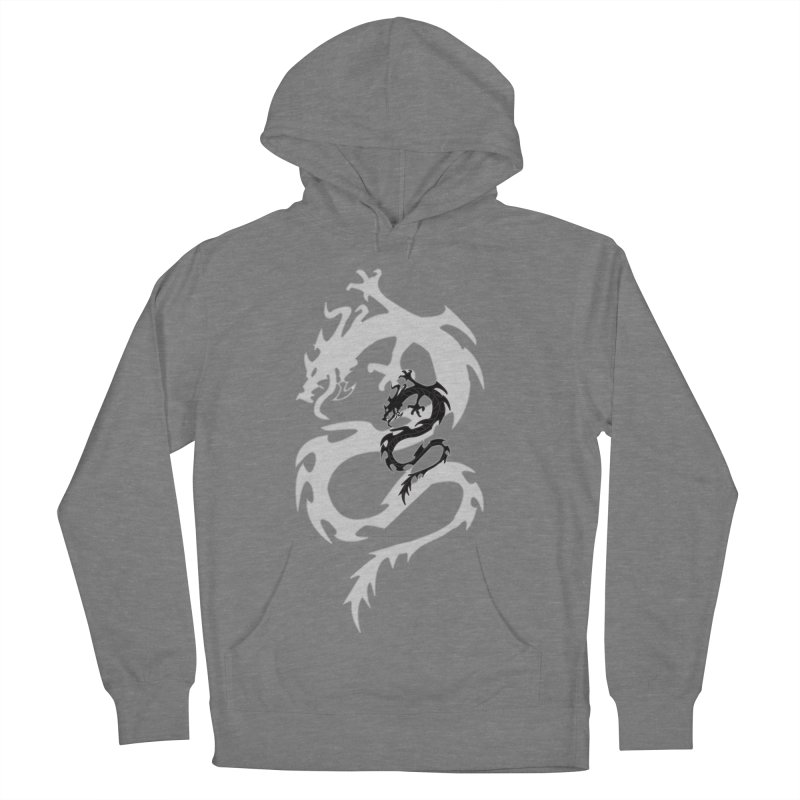 Double Dragon Women's Pullover Hoody by DesignsbyAnvilJames's Artist Shop