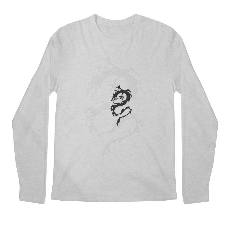Double Dragon Men's Regular Longsleeve T-Shirt by DesignsbyAnvilJames's Artist Shop