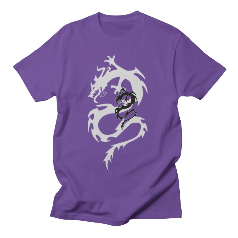 Double Dragon Men's Regular T-Shirt by DesignsbyAnvilJames's Artist Shop