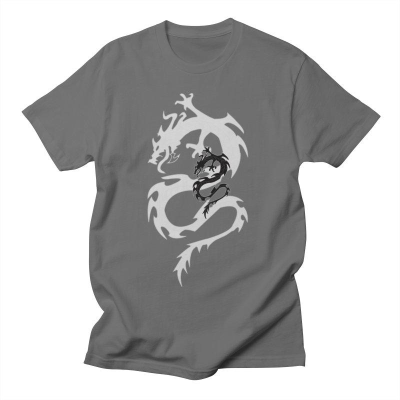 Double Dragon Men's T-Shirt by DesignsbyAnvilJames's Artist Shop