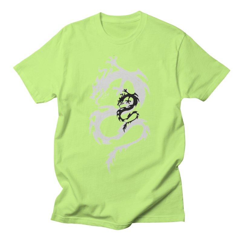 Double Dragon Women's Regular Unisex T-Shirt by DesignsbyAnvilJames's Artist Shop