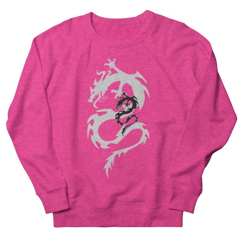 Double Dragon Women's French Terry Sweatshirt by DesignsbyAnvilJames's Artist Shop