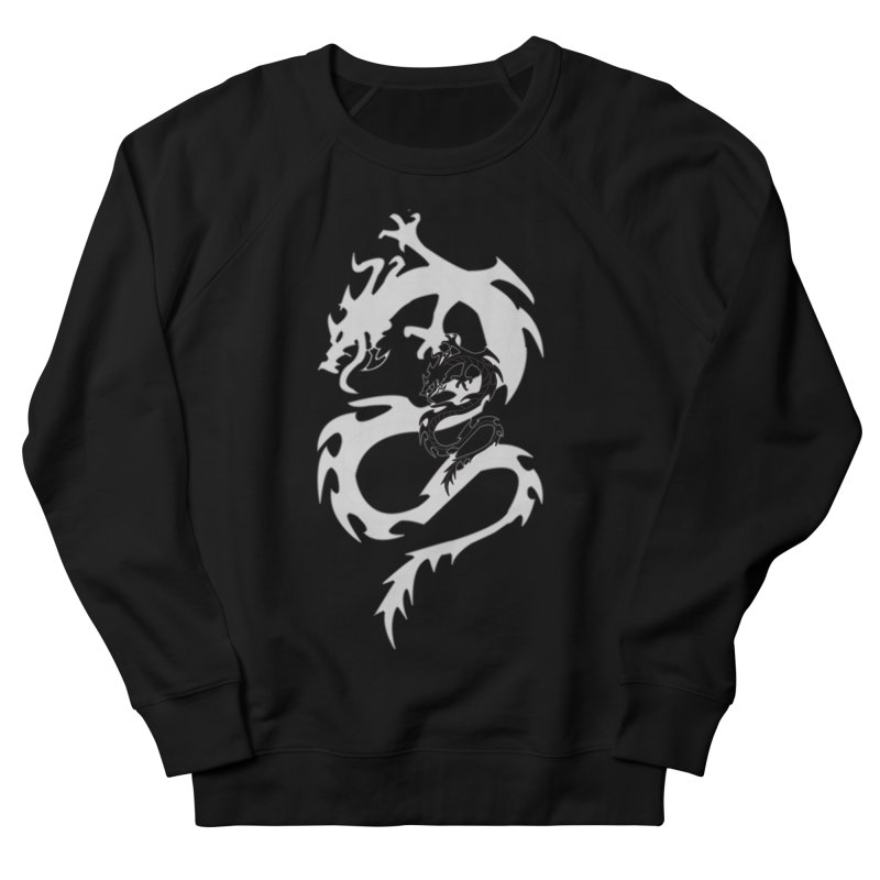 Double Dragon Women's French Terry Sweatshirt by DesignsbyAnvilJames's Artist Shop