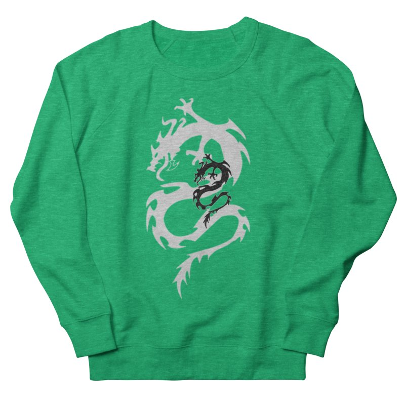 Double Dragon Men's French Terry Sweatshirt by DesignsbyAnvilJames's Artist Shop