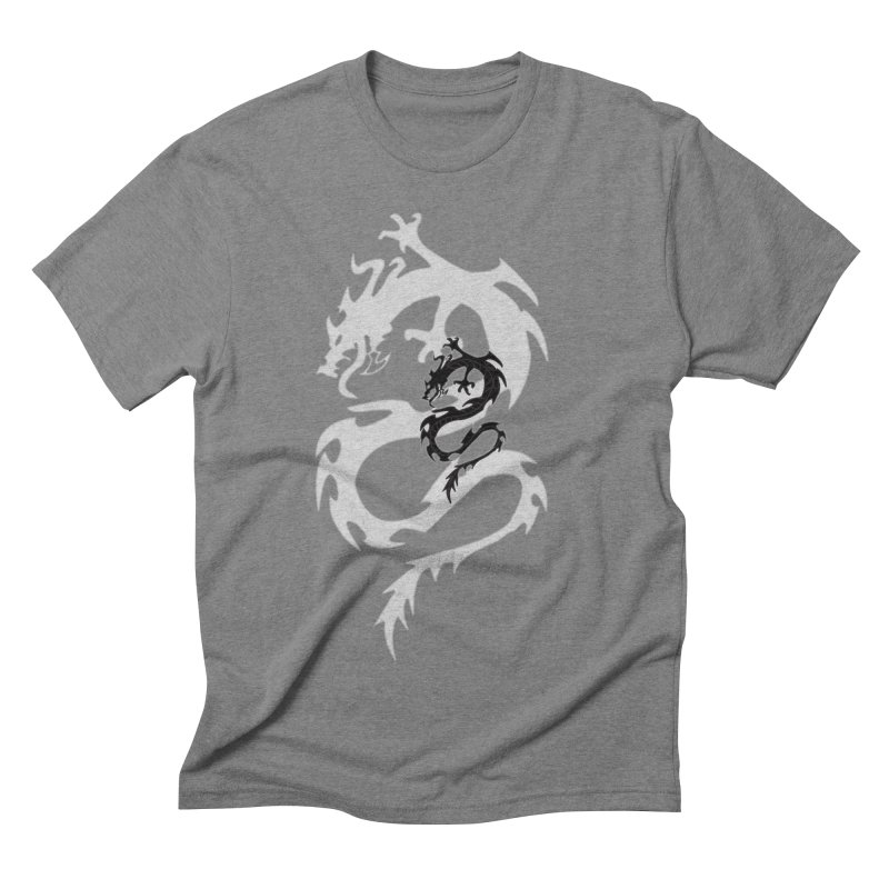 Double Dragon Men's Triblend T-Shirt by DesignsbyAnvilJames's Artist Shop