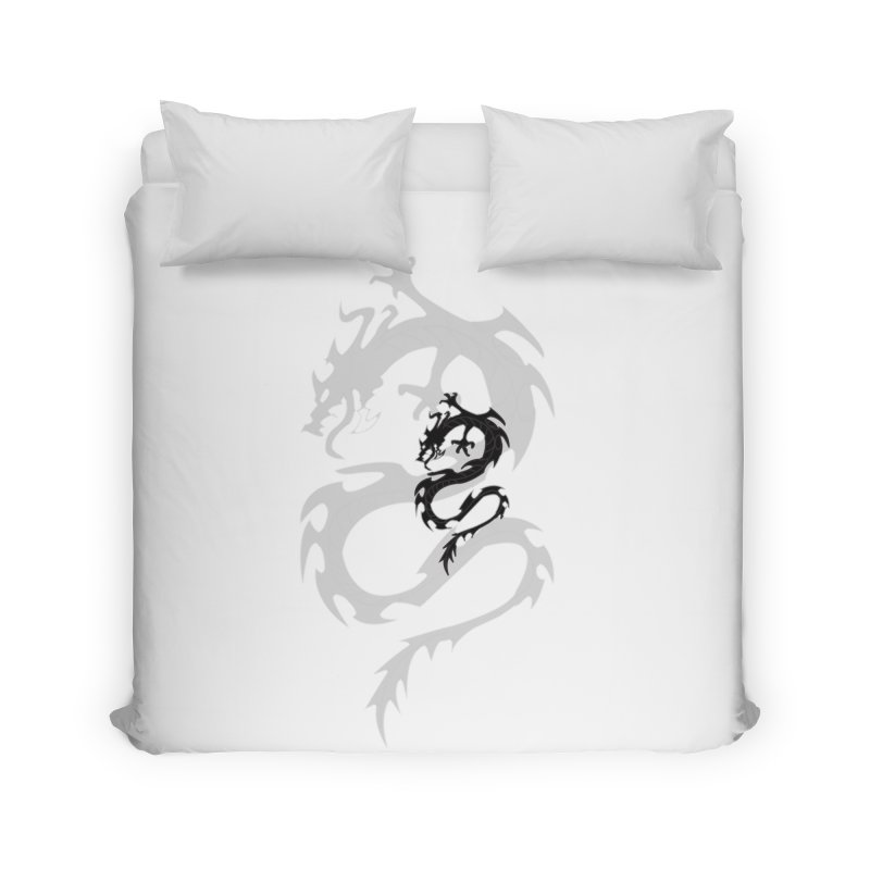 Double Dragon Home Duvet by DesignsbyAnvilJames's Artist Shop