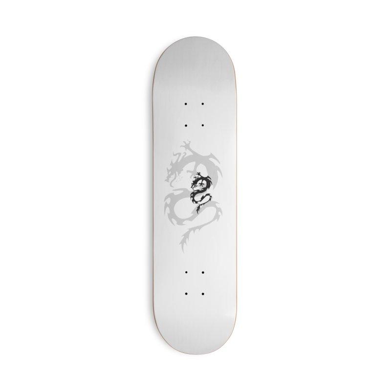 Double Dragon Accessories Skateboard by DesignsbyAnvilJames's Artist Shop