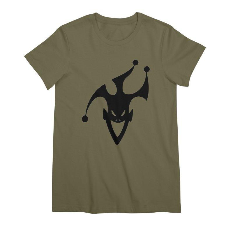 JESTER Women's Premium T-Shirt by DesignsbyAnvilJames's Artist Shop
