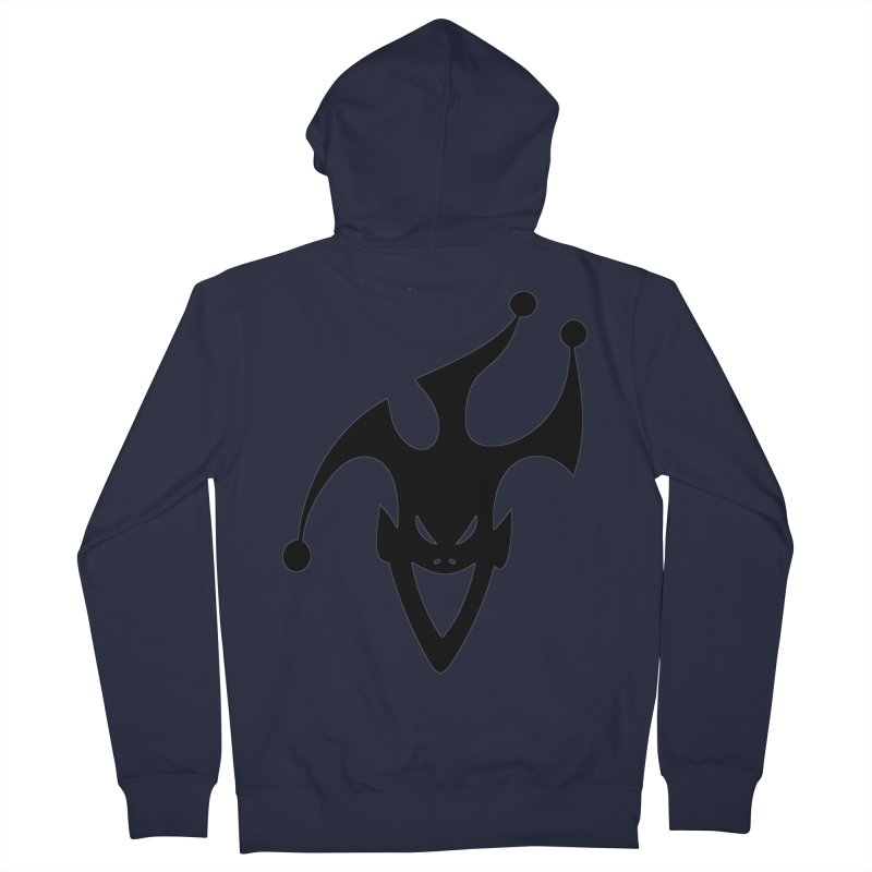 JESTER Women's French Terry Zip-Up Hoody by DesignsbyAnvilJames's Artist Shop