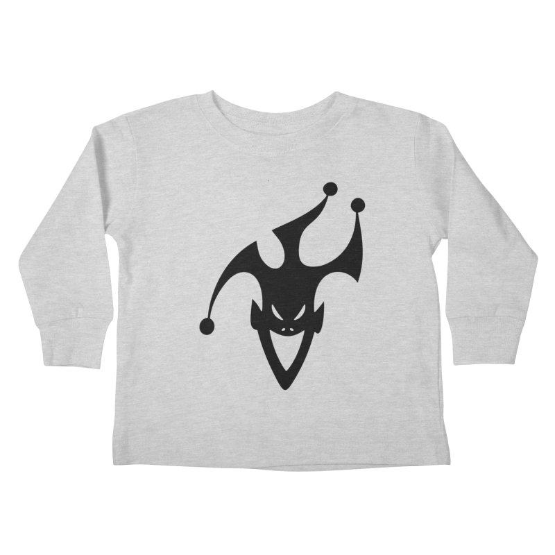 JESTER Kids Toddler Longsleeve T-Shirt by DesignsbyAnvilJames's Artist Shop