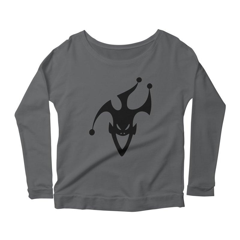 JESTER Women's Scoop Neck Longsleeve T-Shirt by DesignsbyAnvilJames's Artist Shop