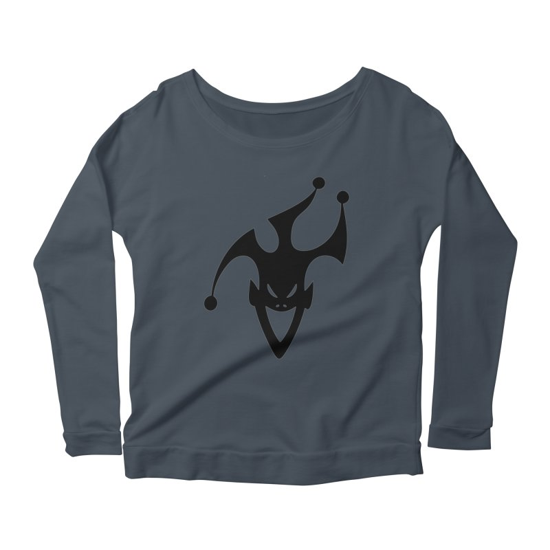 JESTER Women's Scoop Neck Longsleeve T-Shirt by DesignsbyAnvilJames's Artist Shop