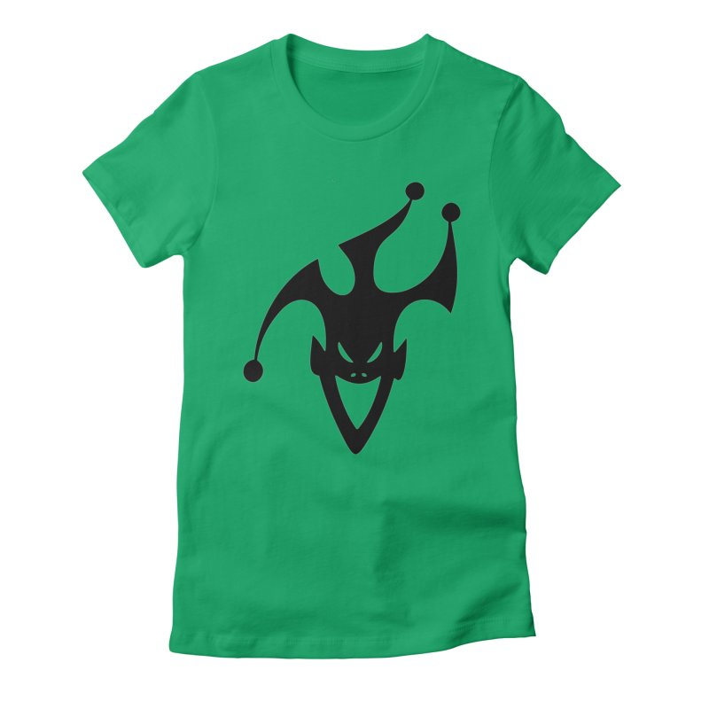JESTER Women's Fitted T-Shirt by DesignsbyAnvilJames's Artist Shop