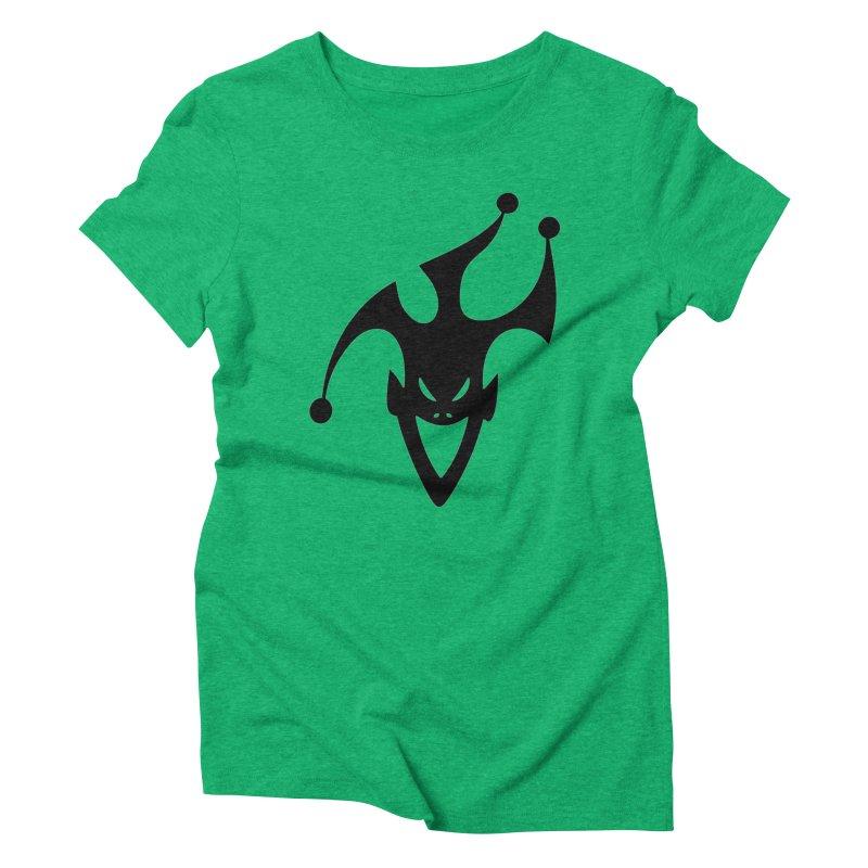 JESTER Women's Triblend T-Shirt by DesignsbyAnvilJames's Artist Shop
