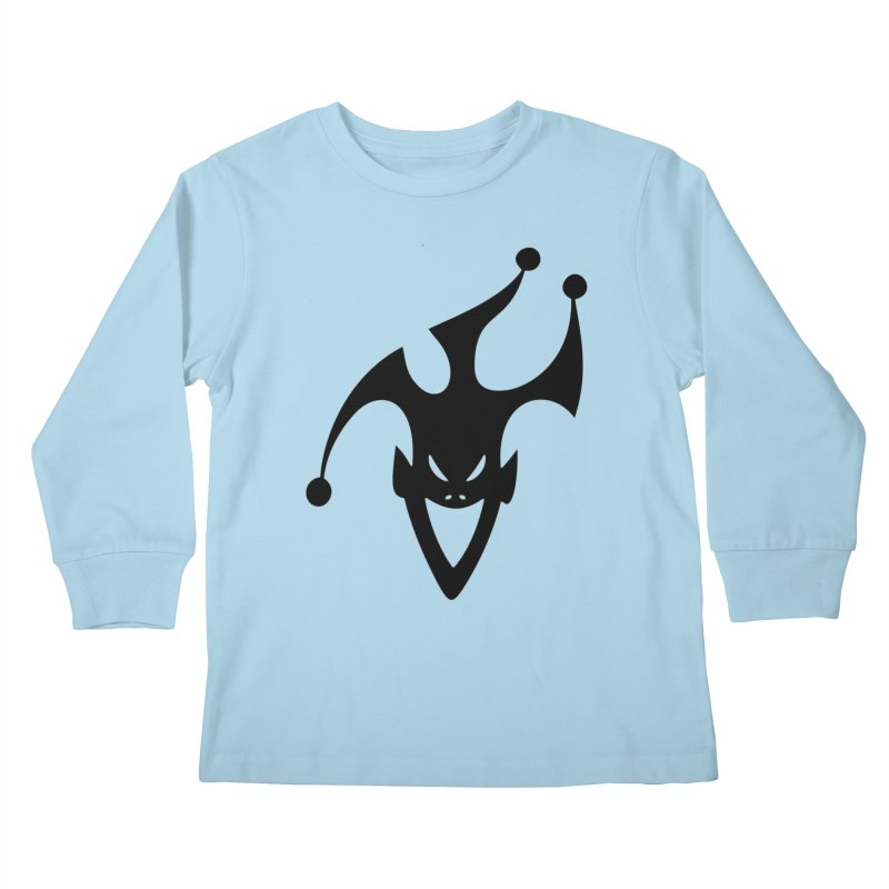 JESTER Kids Longsleeve T-Shirt by DesignsbyAnvilJames's Artist Shop