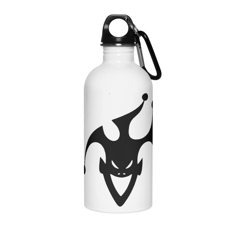 JESTER Accessories Water Bottle by DesignsbyAnvilJames's Artist Shop