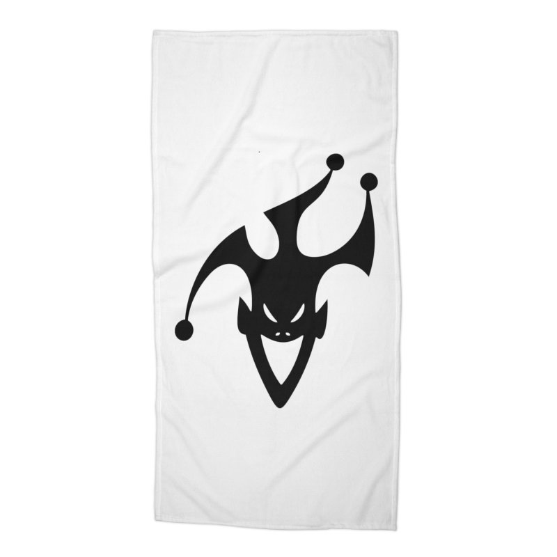 JESTER Accessories Beach Towel by DesignsbyAnvilJames's Artist Shop