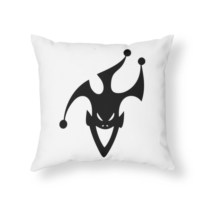 JESTER Home Throw Pillow by DesignsbyAnvilJames's Artist Shop