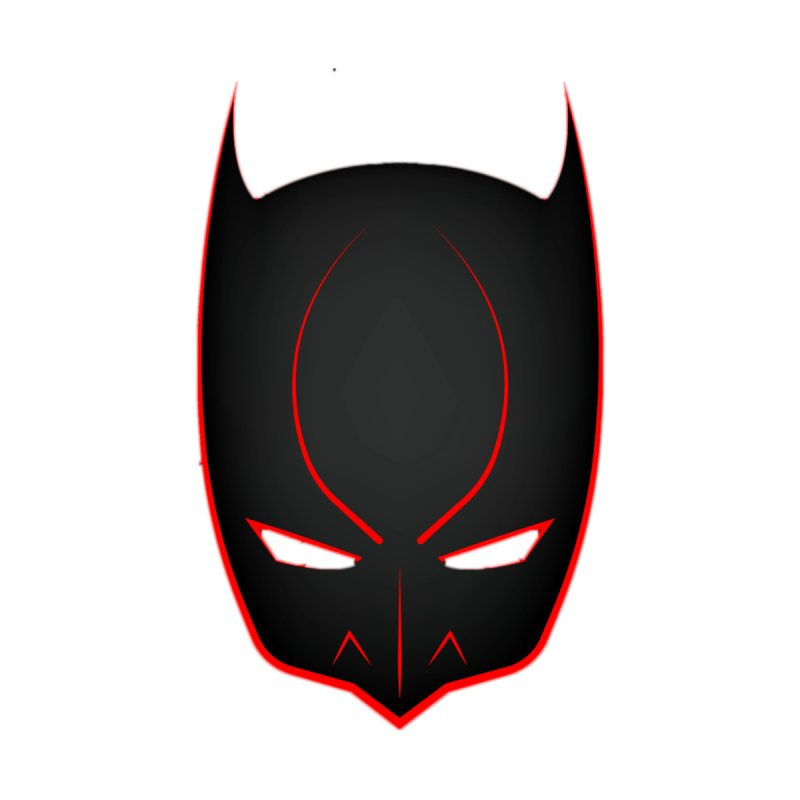 BAT MASK Accessories Sticker by DesignsbyAnvilJames's Artist Shop