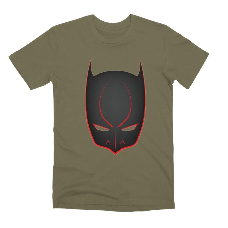 BAT MASK Men's T-Shirt by DesignsbyAnvilJames's Artist Shop