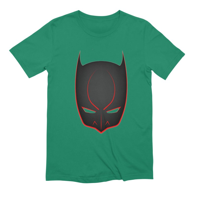 BAT MASK Men's Extra Soft T-Shirt by DesignsbyAnvilJames's Artist Shop