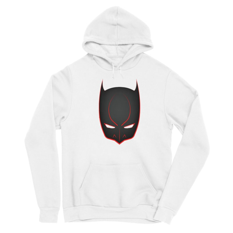 BAT MASK Women's Sponge Fleece Pullover Hoody by DesignsbyAnvilJames's Artist Shop