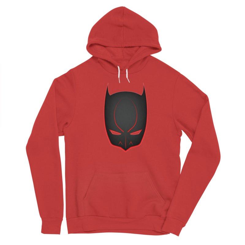BAT MASK Women's Pullover Hoody by DesignsbyAnvilJames's Artist Shop