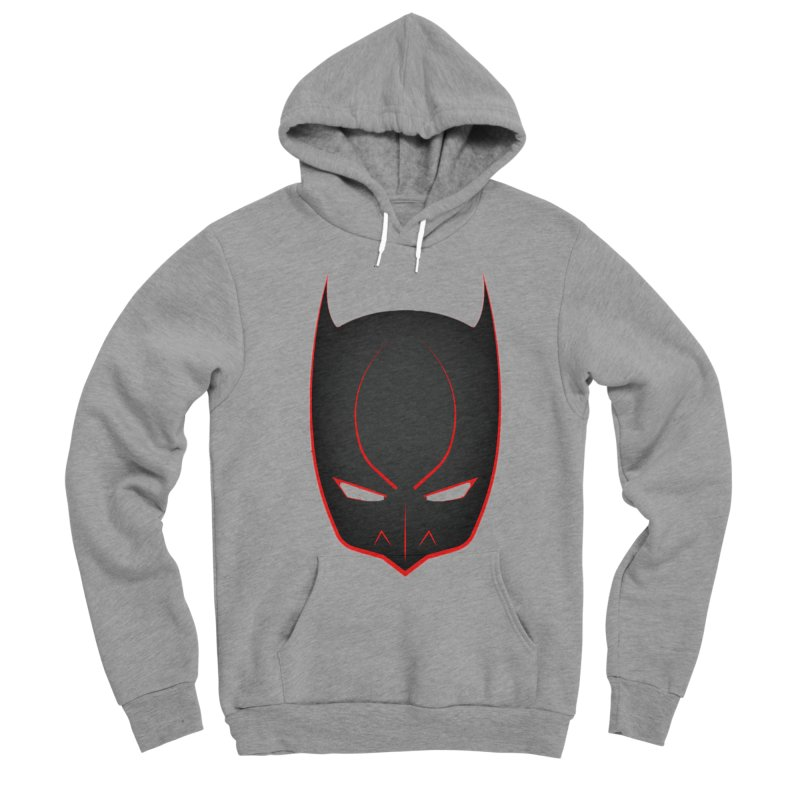 BAT MASK Men's Sponge Fleece Pullover Hoody by DesignsbyAnvilJames's Artist Shop