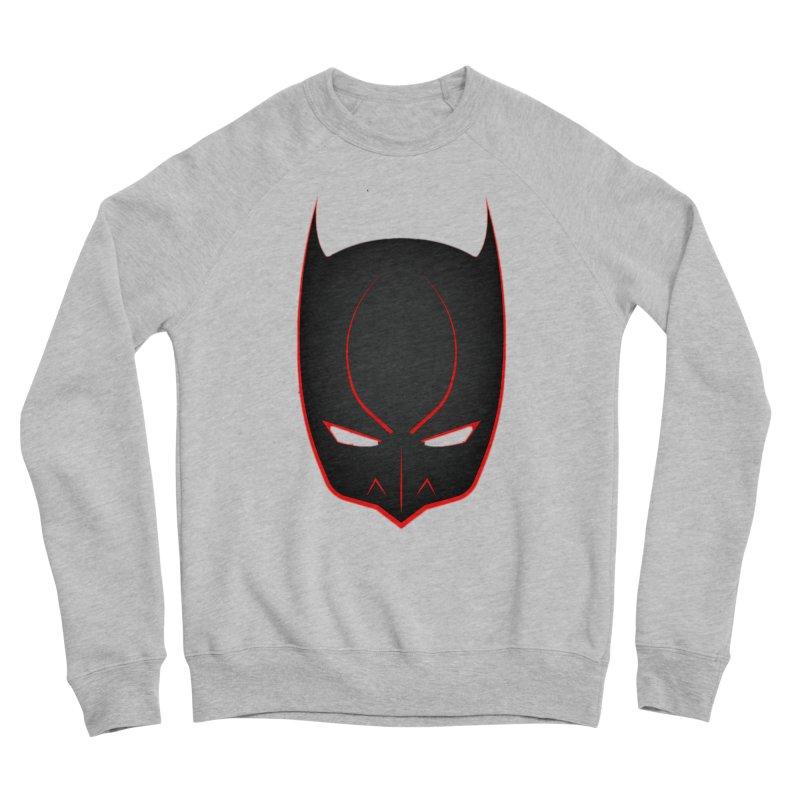 BAT MASK Men's Sponge Fleece Sweatshirt by DesignsbyAnvilJames's Artist Shop