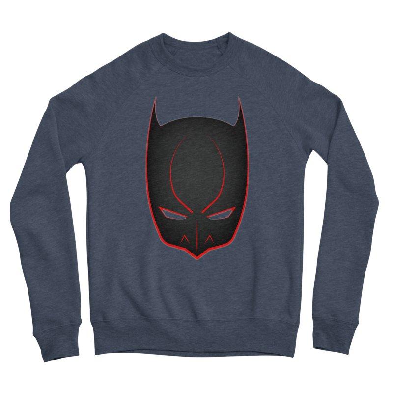 BAT MASK Women's Sponge Fleece Sweatshirt by DesignsbyAnvilJames's Artist Shop