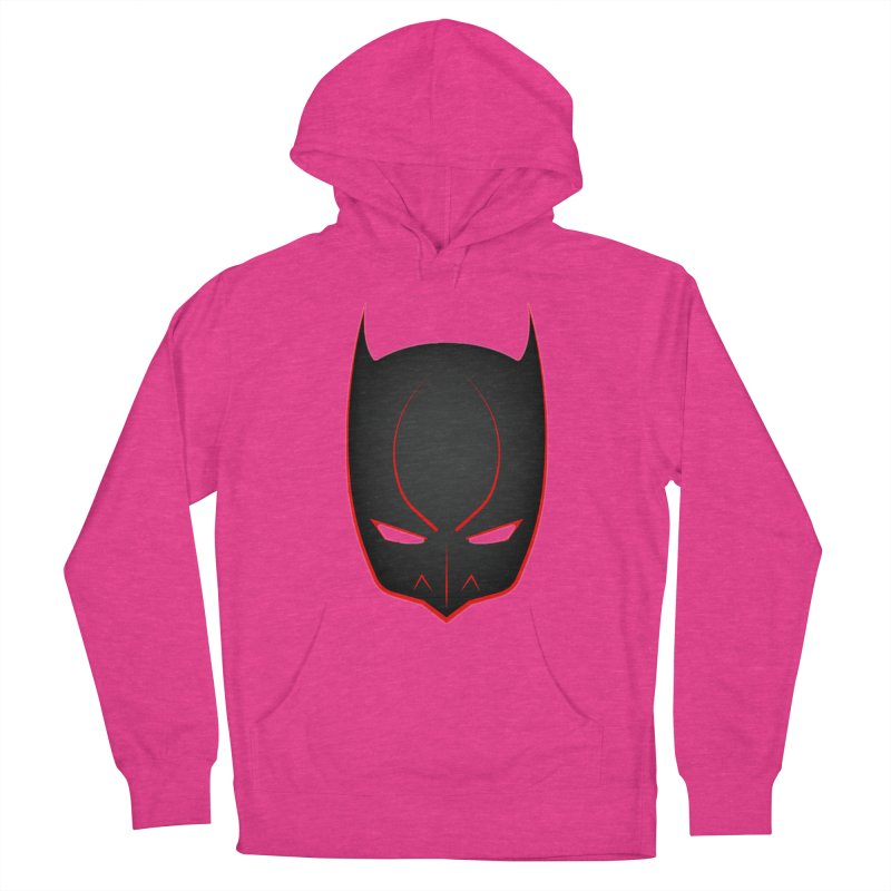 BAT MASK Men's French Terry Pullover Hoody by DesignsbyAnvilJames's Artist Shop