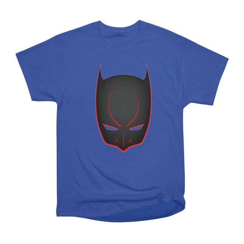 BAT MASK Women's Heavyweight Unisex T-Shirt by DesignsbyAnvilJames's Artist Shop