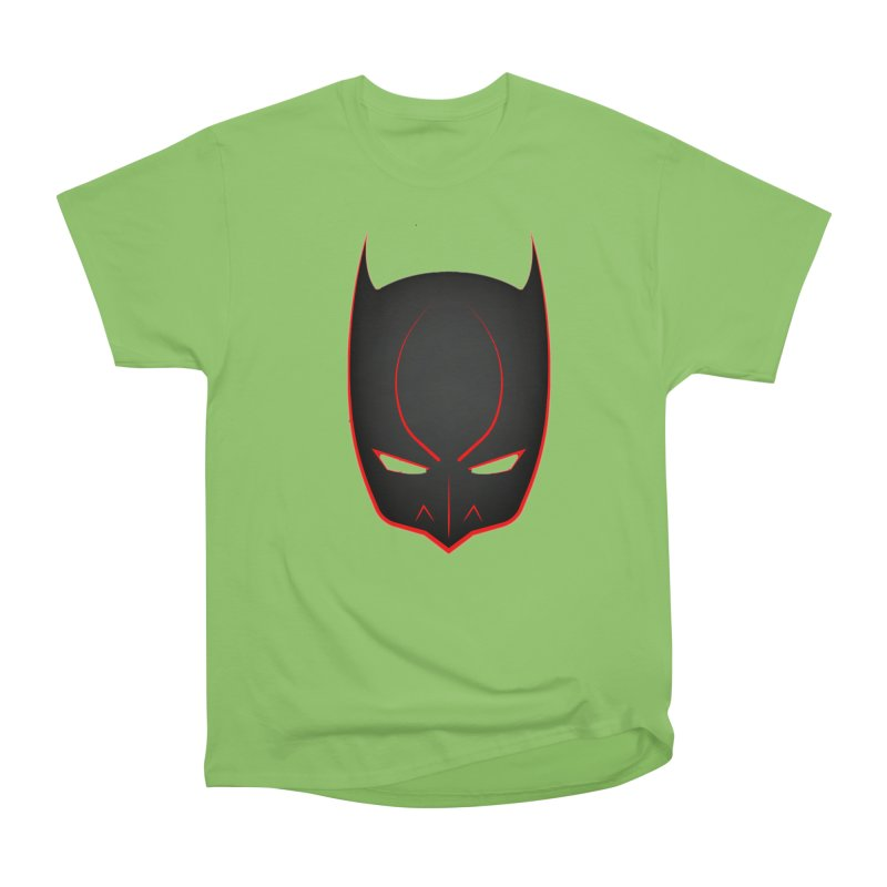 BAT MASK Women's Heavyweight Unisex T-Shirt by DesignsbyAnvilJames's Artist Shop