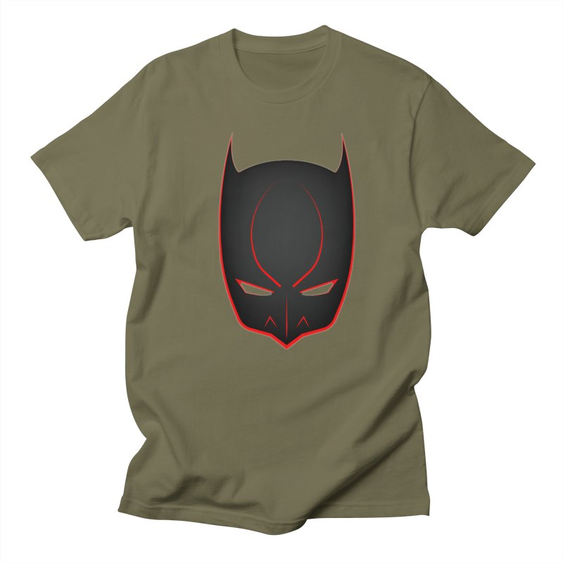 BAT MASK Men's T-Shirt by DesignsbyAnvilJames's Artist Shop