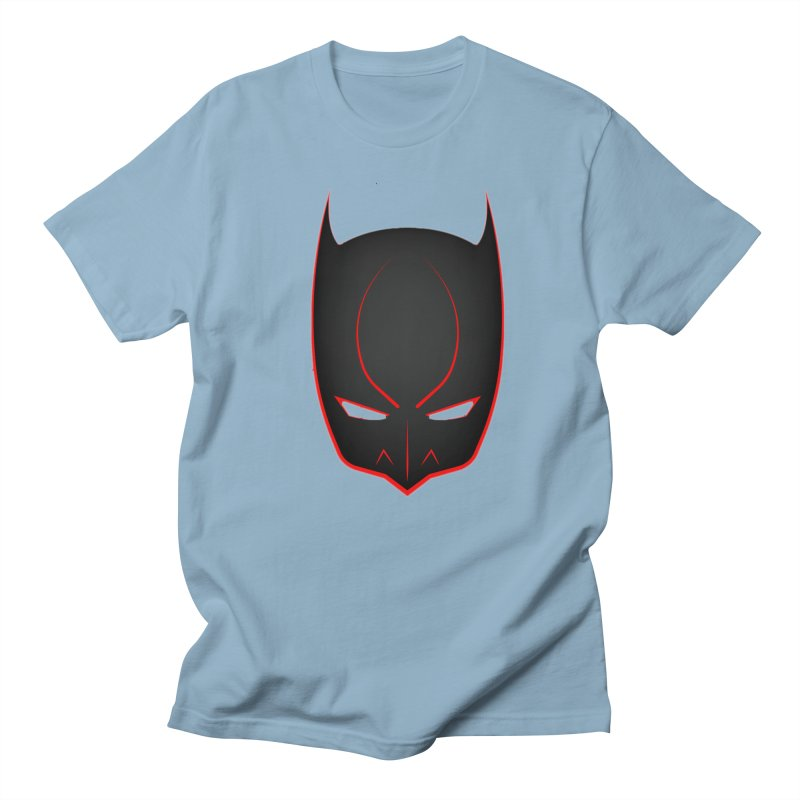 BAT MASK Men's Regular T-Shirt by DesignsbyAnvilJames's Artist Shop